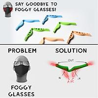 Universal Nose Bridge Anti-Fogging Device For Glasses Nose Strip Adjustable