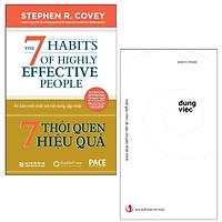 Combo Sách Đúng Việc và 7 Thói Quen Hiệu Quả( Tặng Kèm Sổ Tay)