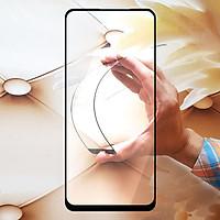 Miếng kính cường lực cho Oppo Reno 4 Full màn hình - Đen