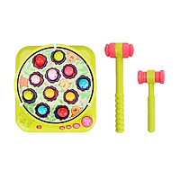 Whack A Mole Game Hammering Pounding Toys with 2 Hammers Whack Game Mole Toy with Music 2-level Speed Developmental Toy