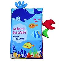 Sách vải tương tác PiPo - Khám phá đại dương