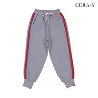 Quần thun thể thao CERA-Y jogger form rộng màu xám