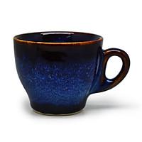 02 Cốc cà phê Ý S1  Đông Gia - xanh sóng biển 8094. Italian coffee Cup S1