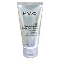 Sửa rửa mặt dưỡng trắng da Nữ MIYAKO 130ml