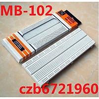 830 Tie Points Rectangular Adhesive Back Solderless Prototype Breadboard MB-102