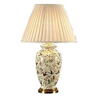 Đèn bàn - đèn ngủ để bàn - đèn trang trí phòng khách - đèn bàn gốm phòng ngủ cao cấp MB8112