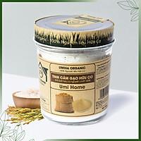 Tinh Bột Cám Gạo Nguyên Chất UMIHOME (125g) Dùng cho dưỡng da loại bỏ mụn, tẩy da chết hiệu quả tại nhà