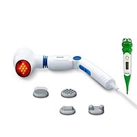 Combo Máy Massage Cầm Tay Có Đèn Hồng Ngoại Beurer MG40 + Nhiệt Kế Điện Tử Đầu Mềm Medilife ( hình thú ngẫu nhiên )