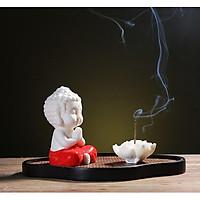 Tượng Phật Thích Ca Gốm Đỏ