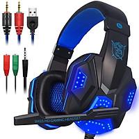 Tai nghe gaming có mic có đèn led chính hãng PLEXTONE PC780  dành cho game thủ chống nhiễu, chống ồn cực tốt + Tặng kèm cáp chuyển đổi để dùng cho điện thoại