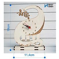 Đồng hồ để bàn hình Khủng long - Quà tặng ý nghĩa cho người thân