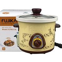 Nồi nấu chậm, nồi kho cá nấu cháo Fujika 1.5L/2.5L(chọn phân loại), công suất 140W-240W, màu ngẫu nhiên-hàng chính hãng