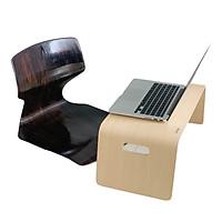 Ghế ngồi Bệt bảo vệ cột sống Gỗ Uốn Cong Kiểu Nhật - Plyconcept Toma Chair