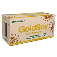 Thùng 12 Hộp Sữa Đậu Nành Goldsoy (1L)
