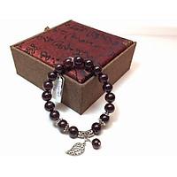 Vòng tay phong thủy đá Garnet Đỏ (Ngọc Hồng Lựu) 9 ly