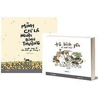 Sách Tô Màu - (Lẻ tùy chọn) Tô bình yên vẽ hạnh phúc và Mình chỉ là người bình thường