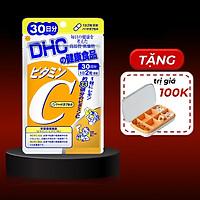 Viên Uống Bổ Sung Vitamin C DHC Nhật Bản + Tặng Kèm Hộp Chia Thuốc