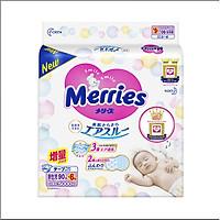 Bỉm Tã Merries Nội Địa Nhật hàng thêm miếng NB96( Cho Trẻ Dưới 5kg)