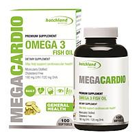 Thực phẩm bảo vệ sức khỏe: Viên nang mềm MegaCardio Omega 3