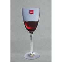 Bộ 4 ly uống rượu vang pha lê cường lực Tiệp Khắc 390 ml ( Tuyệt đẹp )
