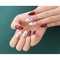 Bộ 12 móng tay giả nail thời trang (như hình-6)