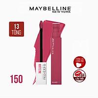 Son Kem Lì 16h Lâu Trôi Maybelline New York Super Stay Matte Ink 5ml  - 150 Savant