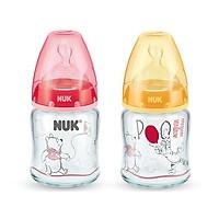 Bình sữa thủy tinh Nuk Premium Choice+ Disney S1 - M NU34425 (120ml)