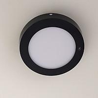Đèn led ốp nổi viền đen 6w 3 chế độ màu