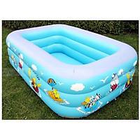 Bể bơi phao cho bé hình chữ nhật loại 1m5