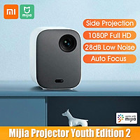 Xiaomi Mijia DLP Projector Youth Edition 2 1080P FHD 460 ANSI Lumens 2GB 16GB Auto Focus Far-field Voice 28dB Low Noise