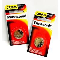 2 Viên Pin Panasonic CR2025 ( CR 2025/1PT x 2 Vỉ ) Lithium 3 V Chính Hãng