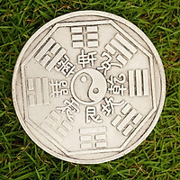Đồng Bạc Bát Quái HẬU THIÊN phong thủy trấn trạch - 9cm