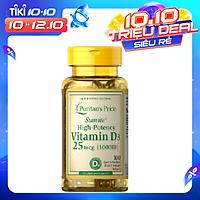 Thực phẩm bảo vệ sức khỏe bổ sung vitamin D3