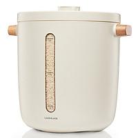 Thùng Đựng Gạo Chân Không Lock&Lock Vacuum Rice Keeper EJR983WHT 5V, 3W, 12L - Màu trắng