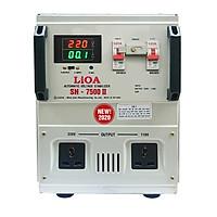 Ổn áp 1 pha LiOA SH-7500 II NEW2020