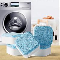(Hộp 8 Viên) Tẩy Lồng Máy Giặt Dạng Sủi Nhật Bản, Vệ Sinh Máy Giặt Và Khử Mùi Hiệu Quả Với Công Nghệ Sủi Bọt Cô Đặc Thế Hệ 2