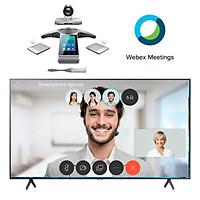 Gói giải pháp hội nghị truyền hình cho phòng họp lớn Yealink  - Hàng chính hãng