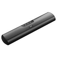 HXSJ Q3 Wireless Bluetooth 5.0 Speakers 20W Soundbar Home Theater 3D Stereo Sound Bar with Mic AUX IN USB TF Card Music
