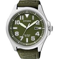 Đồng Hồ Nam Citizen Dây Vải Nato AW1410-32X - Mặt Xanh