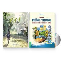 Combo 2 sách: 1001 Bức thư viết cho tương lai + Tự học tiếng Trung cho người mới bắt đầu + DVD quà tặng