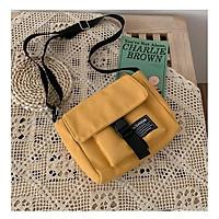Túi tote canvas đeo chéo Harajuku giá rẻ vải mềm đi học, đi chơi - TH08