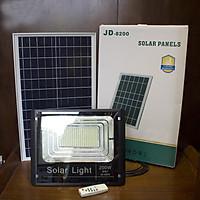 ĐÈN NGOÀI TRỜI, ĐÈN LED NĂNG LƯỢNG MẶT TRỜI SOLAR LIGHT 200W-JD8200