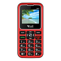 Điện thoại Vtel Happy H11 (Điện thoại cho người già - 2 Sim) - Gọi SOS khẩn,  Số To, Chữ To, Loa to, FM loa ngoài, Pin lớn