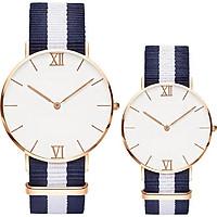 Đồng hồ đôi dây dù thời trang BC_152