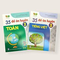 Combo sách 35 đề ôn luyện Toán, Tiếng Việt lớp 2 ( Kết nối tri thức với cuộc sống)