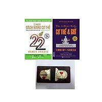 Combo 2 cuốn:22 Ngày Cách Mạng Cơ Thể và Cơ thể 4 giờ – Bí quyết cân đối khỏe mạnh và đời sống tình dục thăng hoa (Tặng Kèm Bao cao su của Đức+bookmark)