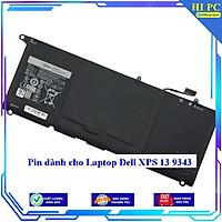 Pin dành cho Laptop Dell XPS 13 9343 - Hàng Nhập Khẩu