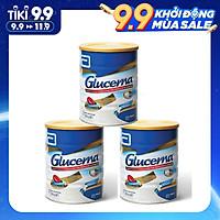 Combo 3 Hộp Sữa bột Abbott Glucerna Vanilla dành cho người đái tháo đường và tiền đái tháo đường (850g) - Nhập khẩu Australia