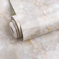 Cuộn 5m dài x 0.6m rộng decal giấy dán tường đá hoa cương vân mây