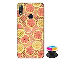Ốp lưng điện thoại Asus Zenfone Max Pro M2 hình Lemon tặng kèm giá đỡ điện thoại iCase xinh xắn - Hàng chính hãng